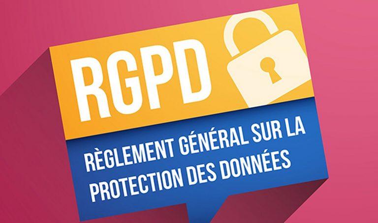 RGPD, Règlement Général sur la Protection des Données